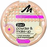 Manhattan CF 2in1 Powder & Make Up 76 1er Pack(1 x 11 grams)