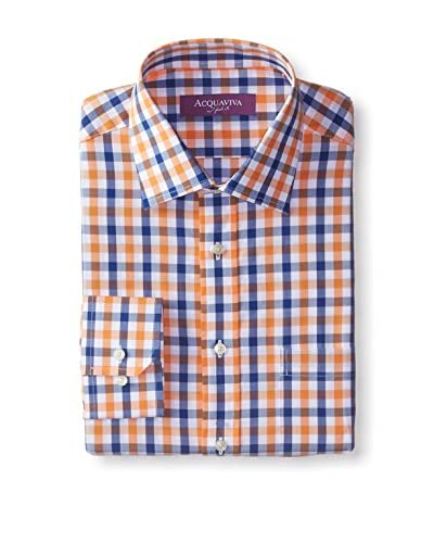 Acquaviva Men's Barrel Cuff Dress Shirt