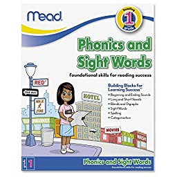 Mead Phonics and Sight Words, Grade 1 (48088)