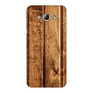 Impressive Wood Texture Back Case Cover for Galaxy A8