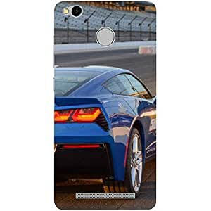 Casotec Car on Racing Track Design 3D Printed Hard Back Case Cover for Xiaomi Redmi 3S Prime