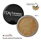 Itay Mineral Foundation Loose Powder 9gr MF2-FRENCH VANILLA + Cala Lily 7pcs Brush Set 70816