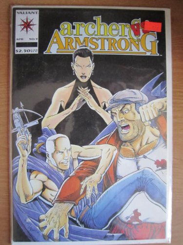 Archer and Armstrong Comic # 9