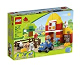 51wx4TiTcAL. SL160  LEGO Brick Themes DUPLO My First Farm 6141