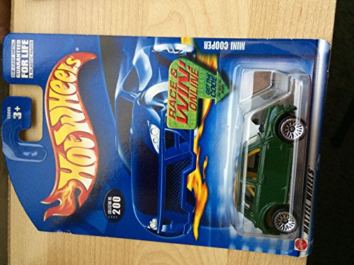 #2002-200 Mini Cooper Mattel Hot Wheels 1:64 Scale Collectible Die Cast Car - 1