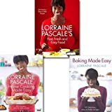 Lorraine Pascale Lorraine Pascale's collection 3 cook book set. (Fast, Fresh and Easy Food, Home Cooking Made Easy, Baking Made Easy)