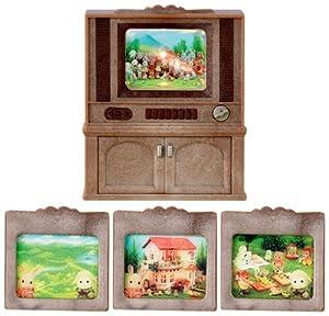 Sylvanian Family - 2903 - Poupées Et Accessoires - Télévision Couleur