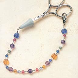 Mill Hill Treasured and Glass Beads Scissor Fob Kit - Confetti Crystal