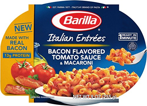 Barilla Bacon And Cheese Ready Meal, 9 Oz