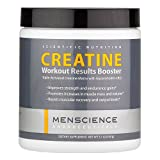 MenScience Creatine Workout Results Booster Supplement with Creatine Monohydrate, Ethyl Ester and Glycerol