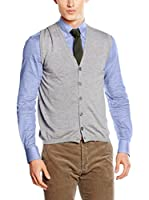 Hackett London Chaleco May Fine Vest (Gris)