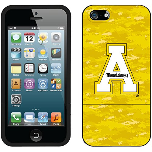 Appalachian State Designs On Black Iphone 5S / 5 Slider Case