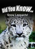 Snow Leopards (Did You Know)
