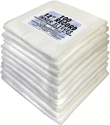 1000-Plastic-3Mil-Thick-Inner-Sleeves-for-12-Vinyl-Records-12IH03-Protect-Against-Dust