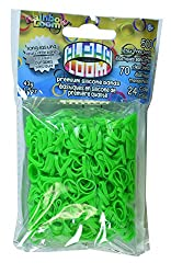 Rainbow Loom Alpha Bands, Lime Green