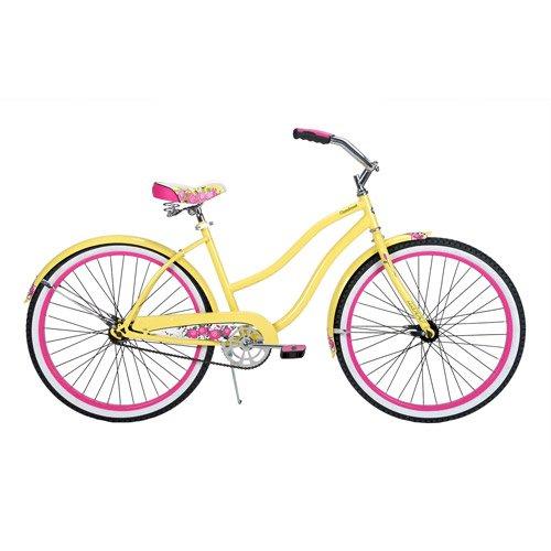 """Amazon.com : 26"""" Ladies Womens Beach Cruiser Bike Bicycle"""