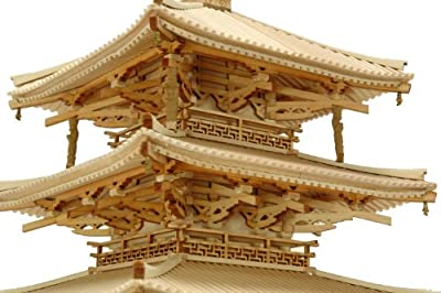 "WoodyJOE ""Horyu-ji Five-Story Pagoda"" Model Kit (1:75 Scale)"