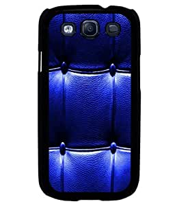 printtech Leather Pattern Back Case Cover for Samsung Galaxy S3 Neo::Samsung Galaxy S3 Neo i9300i