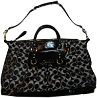 Coach Ashley Signature Sateen Large Satchel
