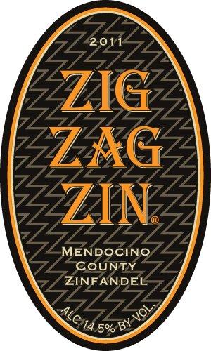 2011 Smokin Mendocino Zig Zag Zin Zinfandel Mendocino County 750 Ml