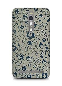 Amez designer printed 3d premium high quality back case cover for Asus Zenfone 2 (Vintag pattern 2)