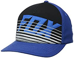 Fox Racing Boys Savant Flexfit Hat/Cap, Blue, One Size