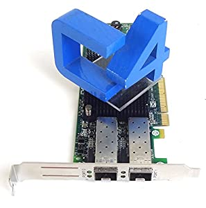 HP 489193-001 8Gb Dual Port Fibre Channel PCI-E FC HBA Adapter + 2x AJ716A SFP's