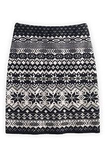 Green 3 Apparel Sweater Knit USA made Pencil Skirt