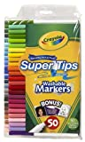 Crayola 50ct Washable Super Tips with Silly Scents