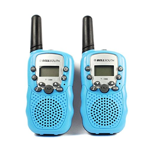 Great Deal! BELLSOUTH T388 2 Piece T-388 3-5KM 22 FRS and GMRS UHF Radio for Child Walkie-Talkie