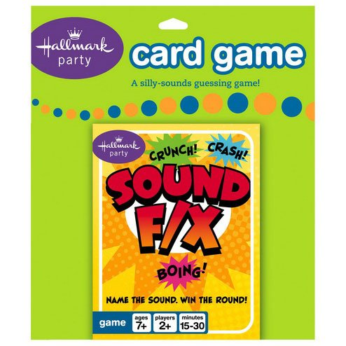 Sound F/X Card Game Party Accessory