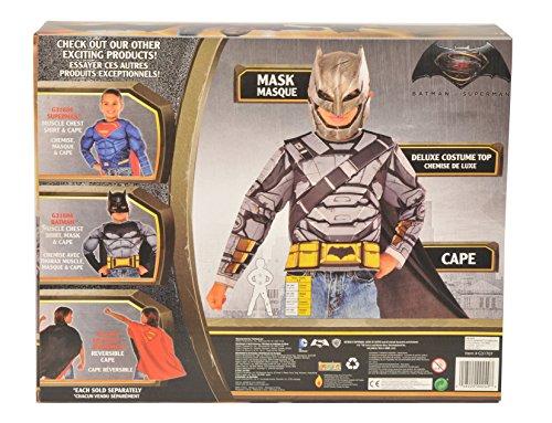Batman v Superman: Dawn of Justice Batman Battle Armor Muscle Chest Shirt Set at Gotham City Store