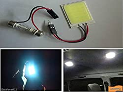 Delhitraderss -Car Replacement Roof Dome Interior 24 led COB 6000K White Light for - Toyota Fortuner Old