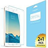 iPad Mini 3 Screen Protector, Spigen® [Front + Back] iPad Mini 3 Screen Protector Front and Back [Crystal][3-PACK] JAPANESE FILM Premium Front and Back Screen Protector for iPad Mini 3 / iPad Mini 2 - Crystal CR (SGP10627)