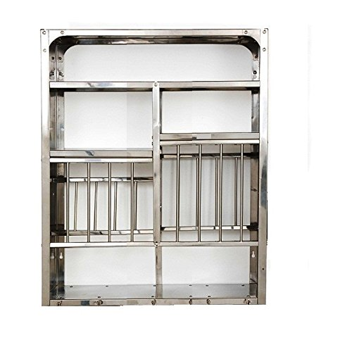 Vidya Steels Small Stainless Steel Plate Rack For Kitchen