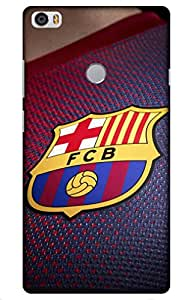 Iessential Football Designer Printed Back Case Cover For Xiaomi Mi Max Prime