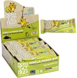 Don't Go Nuts Nut-Free Organic Snack Bars, Gorilla Power, 12 Count