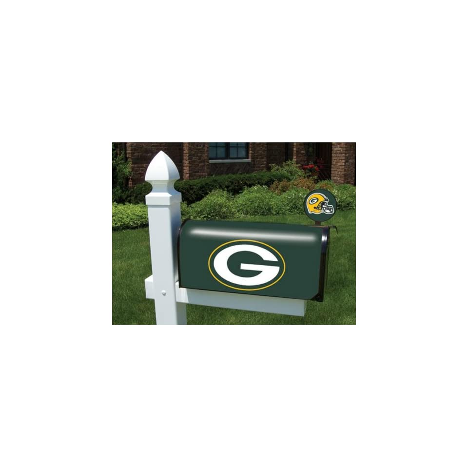 Green bay packers mailbox cover and flag kit on popscreen for Kit da 3 bay
