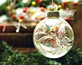 Vintage Map Christmas Ornament - Glass