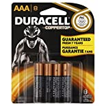 Duracell Coppertop Batteries, Alkaline, AAA, 8 batteries