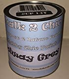 #CP14t CHALK 2 CHIC - SOLWAY GREY shabby chic FURNITURE chalk PAINT 1 LITRE TIN (SOLWAY GREY)