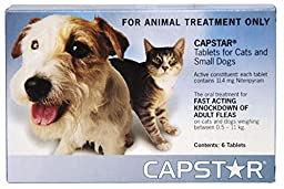 Capstar For Dogs & Cats 2-25lb