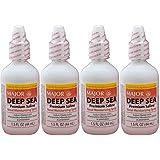 Deep Sea Saline Nasal Spray Generic for Ocean Nasal Moisturizing Spray 1.5 oz per Bottle Pack of 4 Bottles