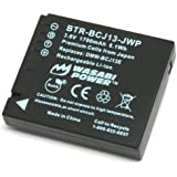 Wasabi Power Battery for Panasonic DMW-BCJ13 and Panasonic Lumix DMC-LX5, DMC-LX7