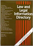 Law and Legal Information Directory 3 Volume Set