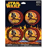 Star Wars Episode III Yo Yo, Set Of 4, Glow In The Dark