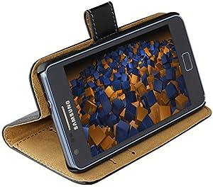 mumbi Ledertasche im Bookstyle für Samsung Galaxy S2 i9100
