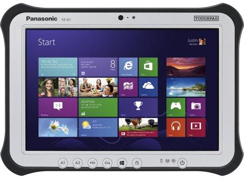 Panasonic Toughpad FZ-G1 with 4G LTE Multi Carrier Modem, 128GB SSD, 8GB RAM, Windows 7 with Windows 8 Upgrade