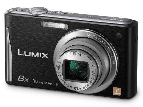 Panasonic Lumix FS35 Digital Camera - Black (16.1MP,