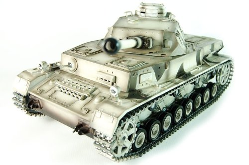 2.4Ghz Digital Remote Control 1/16 Panzer IV F2 Super Metal Upgrade Airsoft RC Battle Tank RTR w/Sound & Smoke
